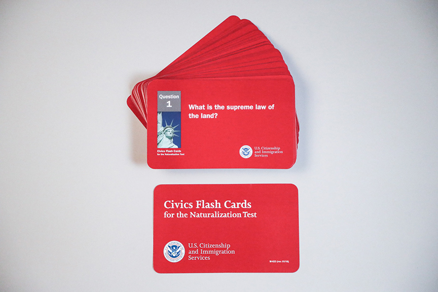 Citizenship Flash Cards